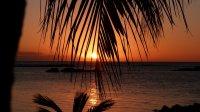 mauritius zachód słońca